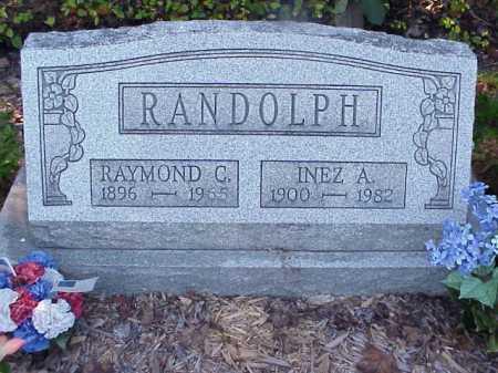 RANDOLPH, RAYMOND C. - Meigs County, Ohio | RAYMOND C. RANDOLPH - Ohio Gravestone Photos
