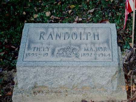 RANDOLPH, MAJOR - Meigs County, Ohio   MAJOR RANDOLPH - Ohio Gravestone Photos