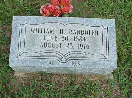 RANDOLPH, WILLIAM - Meigs County, Ohio | WILLIAM RANDOLPH - Ohio Gravestone Photos