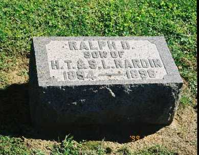 RARDIN, RALPH D. - Meigs County, Ohio | RALPH D. RARDIN - Ohio Gravestone Photos