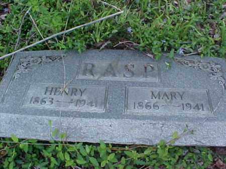 RASP, HENRY - Meigs County, Ohio   HENRY RASP - Ohio Gravestone Photos
