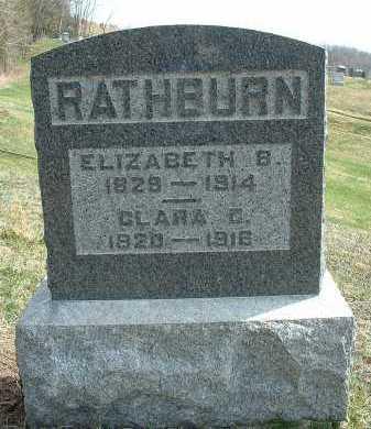 RATHBURN, CLARA C. - Meigs County, Ohio | CLARA C. RATHBURN - Ohio Gravestone Photos