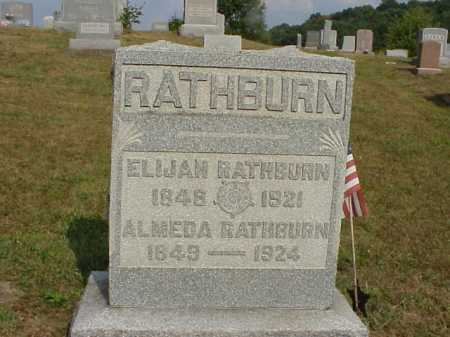 RATHBURH, ALMEDA - Meigs County, Ohio | ALMEDA RATHBURH - Ohio Gravestone Photos