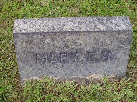 RATHBURN, MARY E. - Meigs County, Ohio | MARY E. RATHBURN - Ohio Gravestone Photos