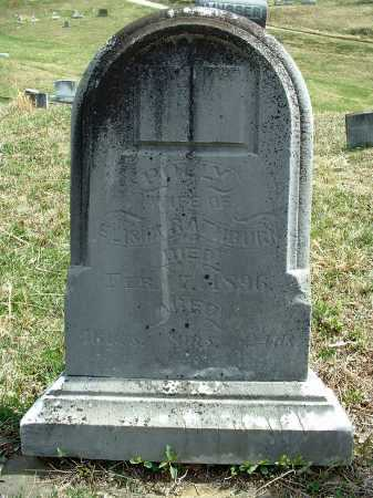 RATHBURN, POLLY - Meigs County, Ohio   POLLY RATHBURN - Ohio Gravestone Photos