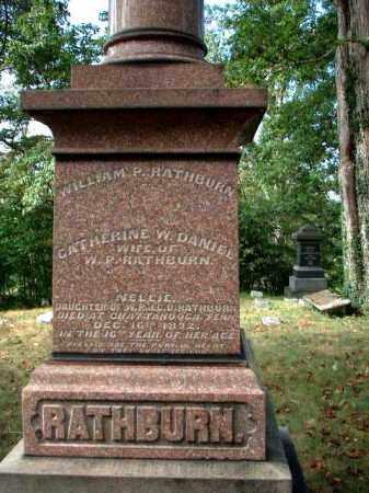 RATHBURN, CATHERINE W. - Meigs County, Ohio | CATHERINE W. RATHBURN - Ohio Gravestone Photos