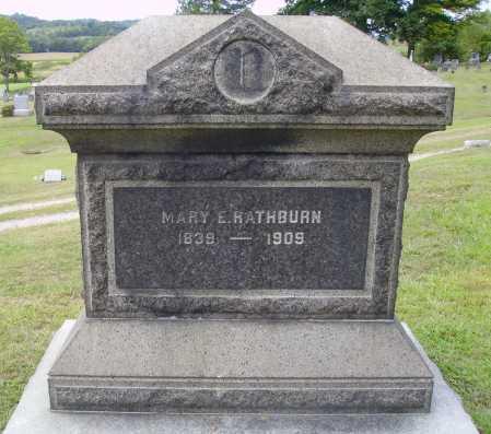 RATHURN, MARY E. - Meigs County, Ohio | MARY E. RATHURN - Ohio Gravestone Photos