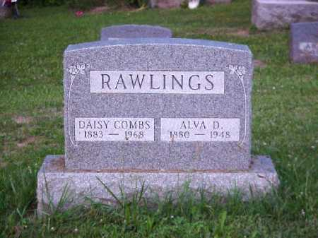 RAWLINGS, ALVA D. - Meigs County, Ohio | ALVA D. RAWLINGS - Ohio Gravestone Photos