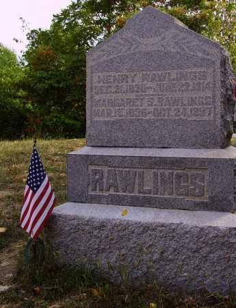 RAWLINGS, HENRY - Meigs County, Ohio   HENRY RAWLINGS - Ohio Gravestone Photos