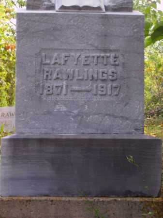 RAWLINGS, LAFYETTE - Meigs County, Ohio | LAFYETTE RAWLINGS - Ohio Gravestone Photos