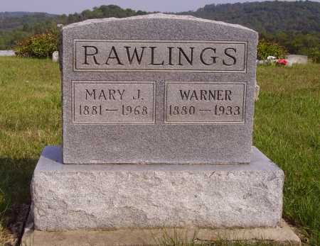 RAWLINGS, MARY J. - Meigs County, Ohio | MARY J. RAWLINGS - Ohio Gravestone Photos
