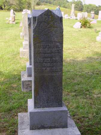 RAWLINGS, RUFUS R. - MONUMENT - Meigs County, Ohio | RUFUS R. - MONUMENT RAWLINGS - Ohio Gravestone Photos