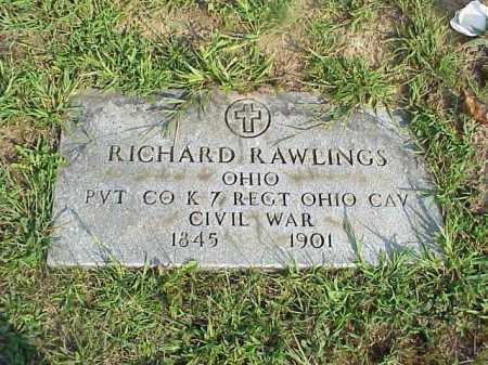 RAWLINGS, RICHARD D. - Meigs County, Ohio   RICHARD D. RAWLINGS - Ohio Gravestone Photos