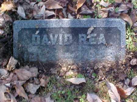 REA, DAVID - Meigs County, Ohio | DAVID REA - Ohio Gravestone Photos