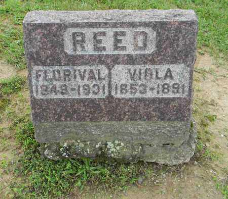 REED, FLORIVAL - Meigs County, Ohio | FLORIVAL REED - Ohio Gravestone Photos