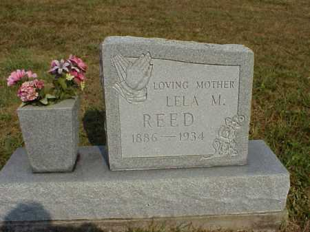 REED, LELA M. - Meigs County, Ohio | LELA M. REED - Ohio Gravestone Photos