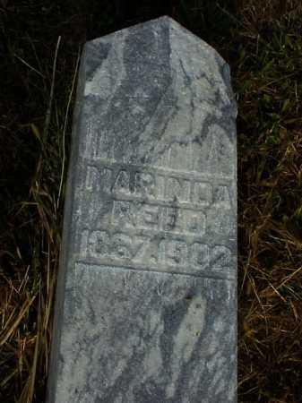 REED, MARINDA - Meigs County, Ohio | MARINDA REED - Ohio Gravestone Photos