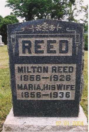 REED, MARIA - Meigs County, Ohio | MARIA REED - Ohio Gravestone Photos