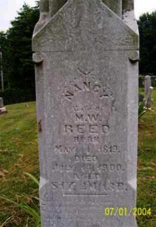 REED, NANCY - Meigs County, Ohio | NANCY REED - Ohio Gravestone Photos