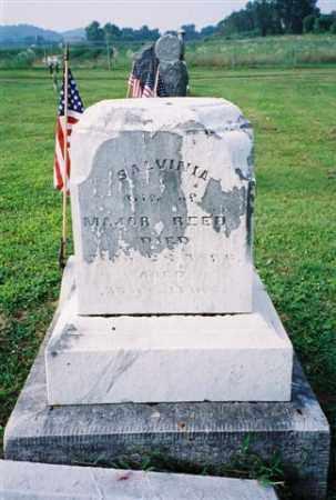 REED, SALVINIA - Meigs County, Ohio | SALVINIA REED - Ohio Gravestone Photos