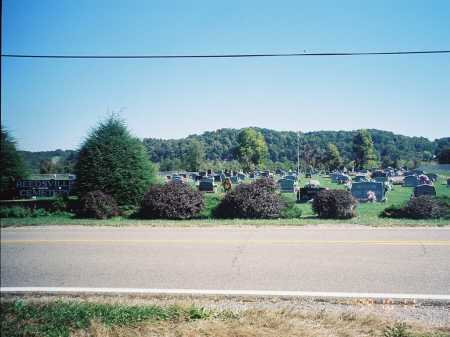 REEDSVILLE OVERVIEW, CEMETERY - Meigs County, Ohio | CEMETERY REEDSVILLE OVERVIEW - Ohio Gravestone Photos