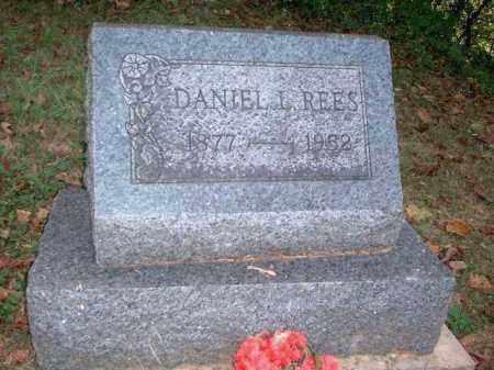 REES, DANIEL L. - Meigs County, Ohio | DANIEL L. REES - Ohio Gravestone Photos