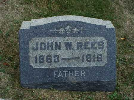 REES, JOHN W. - Meigs County, Ohio | JOHN W. REES - Ohio Gravestone Photos