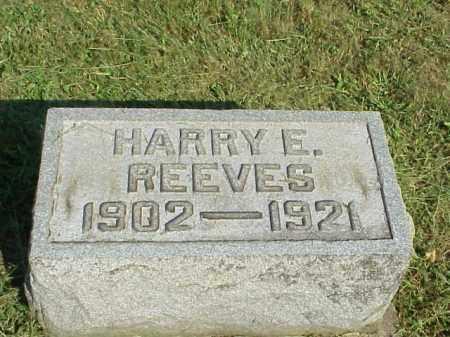 REEVES, HARRY E. - Meigs County, Ohio | HARRY E. REEVES - Ohio Gravestone Photos