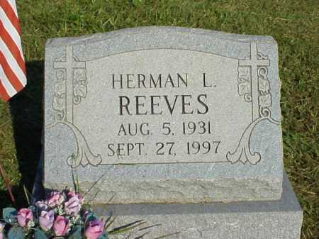 REEVES, HERMAN L. - Meigs County, Ohio | HERMAN L. REEVES - Ohio Gravestone Photos