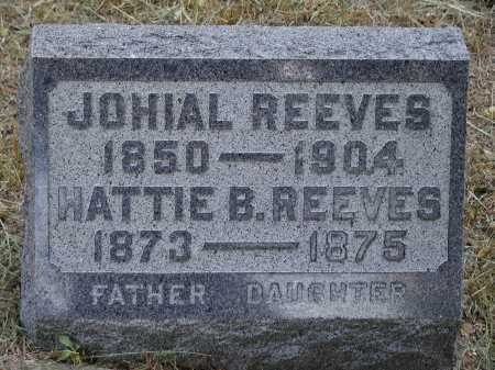 REEVES, JOHIAL - Meigs County, Ohio | JOHIAL REEVES - Ohio Gravestone Photos