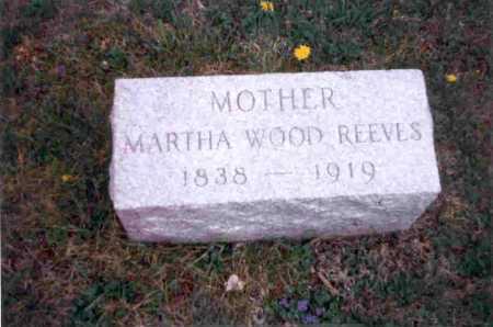 REEVES, MARTHA - Meigs County, Ohio | MARTHA REEVES - Ohio Gravestone Photos