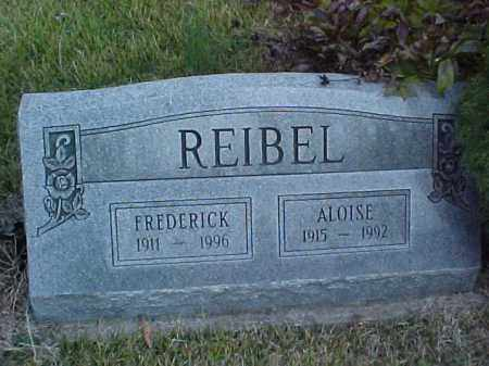 REIBEL, FREDERICK - Meigs County, Ohio | FREDERICK REIBEL - Ohio Gravestone Photos