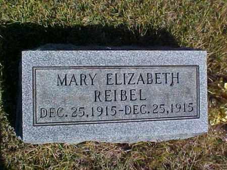 REIBEL, MARY ELIZABETH - Meigs County, Ohio   MARY ELIZABETH REIBEL - Ohio Gravestone Photos