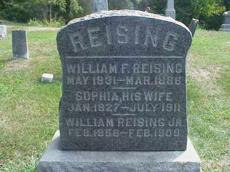REISING, WILLIAM JR. - Meigs County, Ohio | WILLIAM JR. REISING - Ohio Gravestone Photos