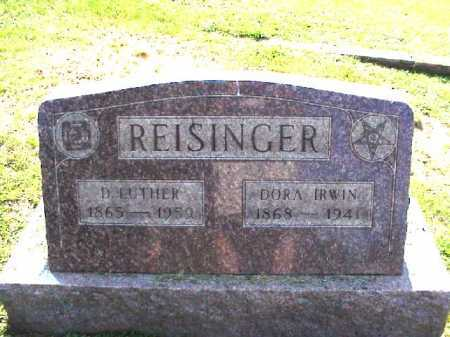 REISINGER, D. LUTHER - Meigs County, Ohio | D. LUTHER REISINGER - Ohio Gravestone Photos