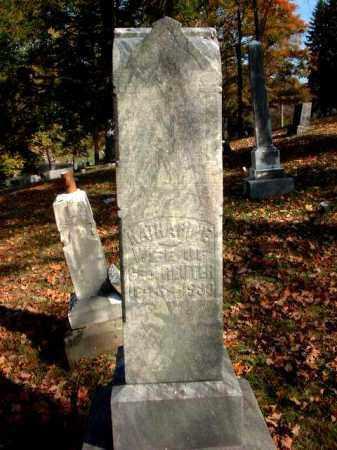 REUTER, KATHARINE - Meigs County, Ohio   KATHARINE REUTER - Ohio Gravestone Photos