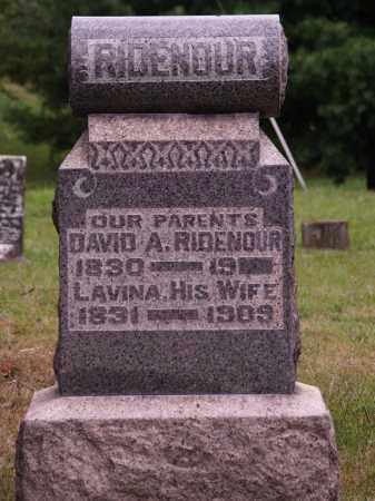 PARKER RIDENOUR, LAVINA - Meigs County, Ohio | LAVINA PARKER RIDENOUR - Ohio Gravestone Photos