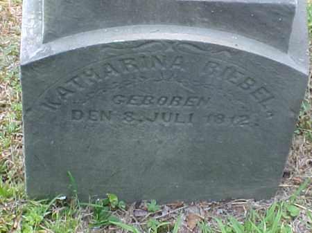 RIEBEL, KATHARINA - Meigs County, Ohio | KATHARINA RIEBEL - Ohio Gravestone Photos
