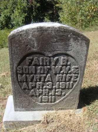 RIFE, FAIRY B. - Meigs County, Ohio | FAIRY B. RIFE - Ohio Gravestone Photos