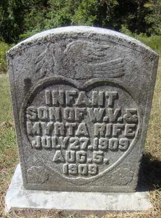 RIFE, INFANT SON - Meigs County, Ohio | INFANT SON RIFE - Ohio Gravestone Photos