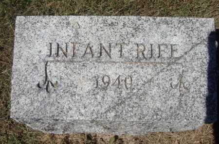 RIFE, INFANT - Meigs County, Ohio | INFANT RIFE - Ohio Gravestone Photos