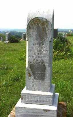 RIFE, MARY - Meigs County, Ohio | MARY RIFE - Ohio Gravestone Photos