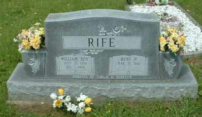 "RIFE, WILLIAM ""BEN"" - Meigs County, Ohio 