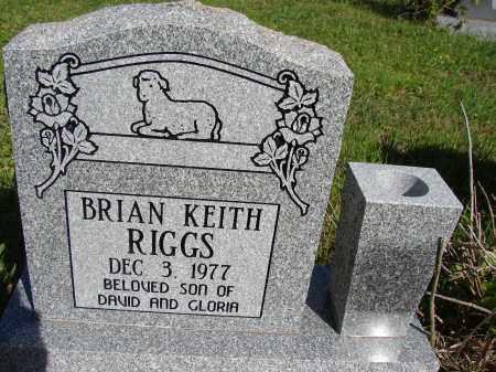 RIGGS, BRIAN KEITH - Meigs County, Ohio | BRIAN KEITH RIGGS - Ohio Gravestone Photos