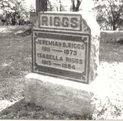 RIGGS, JEREMIAH D. - Meigs County, Ohio | JEREMIAH D. RIGGS - Ohio Gravestone Photos