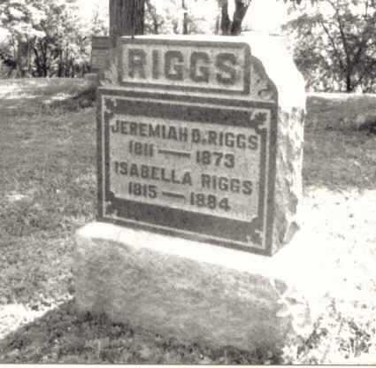 RIGGS, ISABELLA - Meigs County, Ohio | ISABELLA RIGGS - Ohio Gravestone Photos