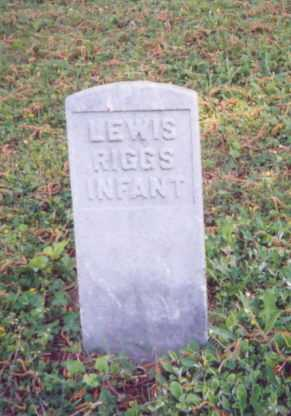 RIGGS, LEWIS - Meigs County, Ohio | LEWIS RIGGS - Ohio Gravestone Photos