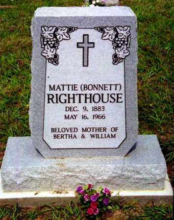 RIGHTHOUSE, MATTIE - Meigs County, Ohio | MATTIE RIGHTHOUSE - Ohio Gravestone Photos