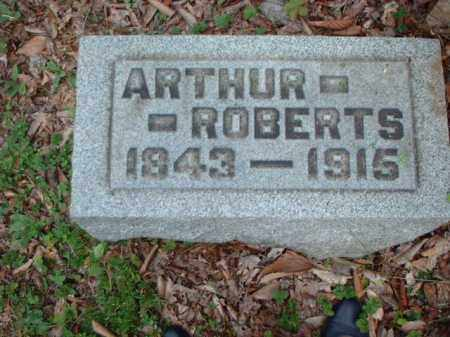 ROBERTS, ARTHUR - Meigs County, Ohio | ARTHUR ROBERTS - Ohio Gravestone Photos