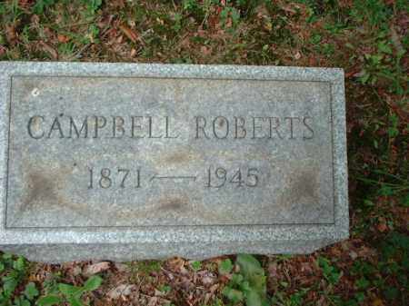ROBERTS, CAMPBELL - Meigs County, Ohio | CAMPBELL ROBERTS - Ohio Gravestone Photos
